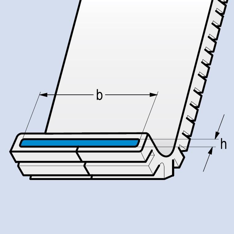 PU - polyuretanový ochranný návlek POLYTEX - FLEXOCLIP, modrý, dělený - PFEIFER