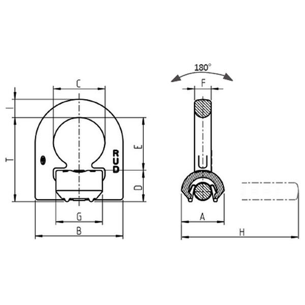 Navařovací jednokozlíkový bod - VLBS - RUD