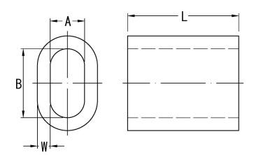 Měděná objímka, EN 13411-3, původně DIN 3093