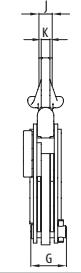 Vertikální zvedací svěrka IPU10J s univ. kloubovým okem - pro plechy s větší tloušťkou