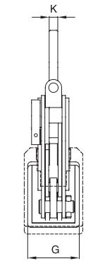 Vertikální zvedací svěrka IPNM10P - CROSBY