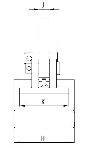 Horizontální zvedací svěrka IPHNM10J
