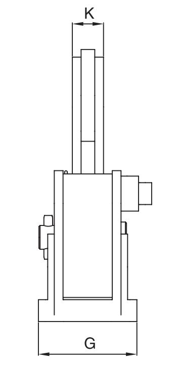 Horizontální zvedací svěrka IPHGUZ - CROSBY