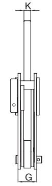 Zvedací svěrka na profily IPBUZ CROSBY