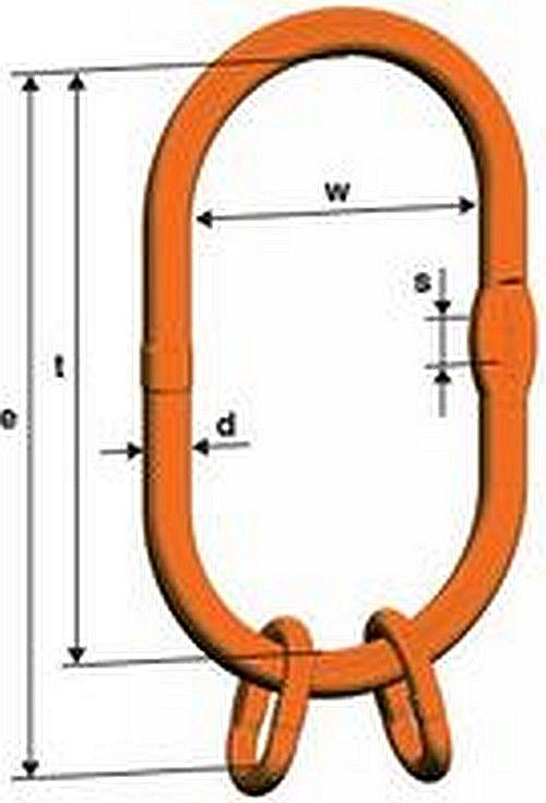 Zväčšená súprava VLW 2/4, pre viacpramenné väzáky, tř.10, PEWAG WINNER