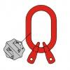 A2 - Závěsná hlava pro dvoupramenné řetězové vazáky -DIN 5688-3, třída 8