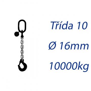 Vázací řetěz třídy 10 jednopramenný průměr 16mm nosnost 10000Kg