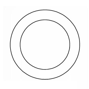 Kroužek svařovaný, pozinkovaný