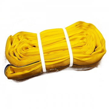 RSK 3000kg, nekonečný závěsný popruh se zesíleným pláštěm, žlutý