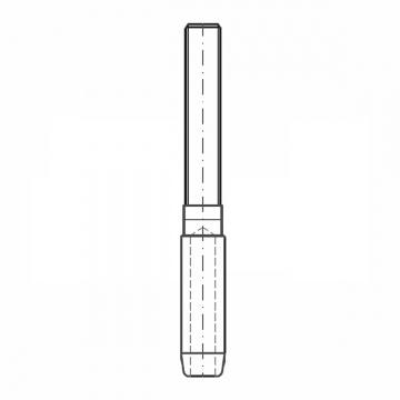 ASS - Nerezová závitová koncovka KW - MINI -  s levým závitem