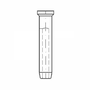 ASS - Nerezová koncovka - MINI - se zápustnou hlavou
