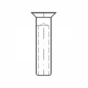 ASS - Nerezová koncovka - SUPER MINI - se zápustnou hlavou