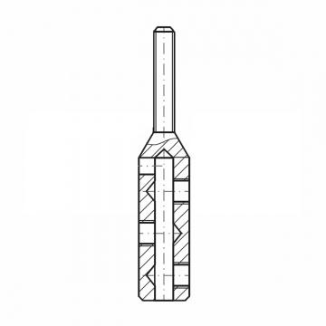 ASS - Nerezová koncovka s levým vnějším závitem - MINI - k montáži