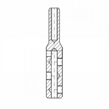 ASS - Nerezová koncovka s levým vnitřním závitem - MINI - k montáži