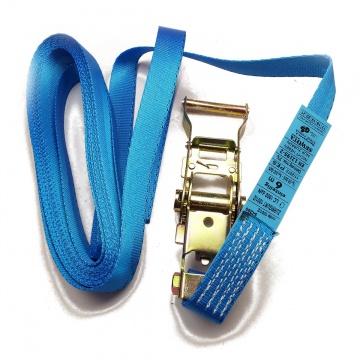 Upínací pás, typ 1001/Z, jednodílný s ráčnou, 25mm, LC 500/1000daN , modrý - SEWOTA