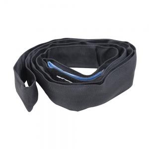 Nekonečný závěsný popruh ELLER černý, polyester, nosnost 2000kg.