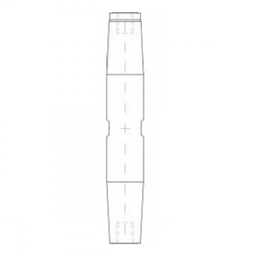 ASS - Nerezový napínák  - MAXI - střední díl