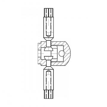 ASS - nerezová svorka šroubovací , spojovací - 332110