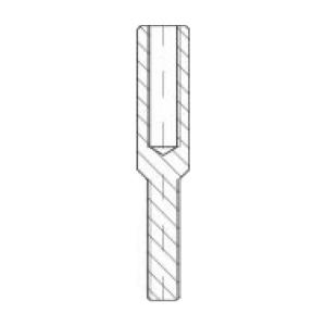 ASS - nerezová napínací koncovka s vnitřním levým a vnějším pravým závitem