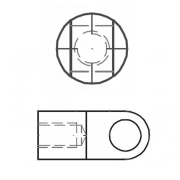 ASS - nerezová matice s okem
