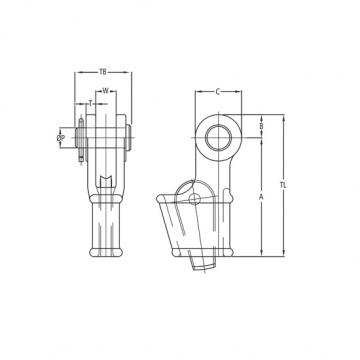 OWS P - klínová svorka pozinkovaná, s čepem a  závlačkou ( lanový zámek )