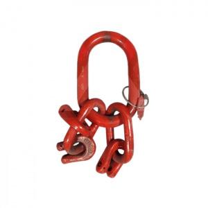 A3 - Závěsná hlava pro třípramenné řetězové vazáky -DIN 5688-3, třída 8