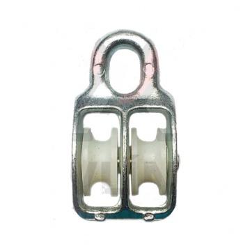 Nylonová kladka dvouřadá, pozinkovaná