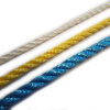 PP - polypropylenová lana a šňůry stáčená, bez jádra