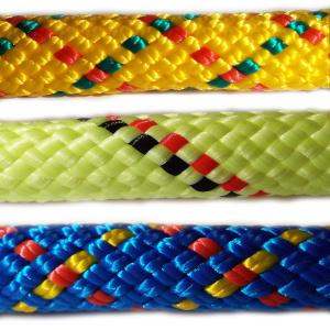 PPV multitex - polypropylenová lana a šňůry, pletená, s jádrem