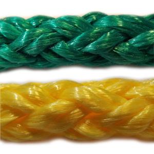 PP - polypropylenová lana a šňůry pletená, bez jádra
