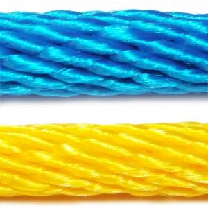 PPV multitex - polypropylenová lana a šňůry, spiroidní
