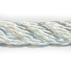 PA 10mm lano stáčené bílé