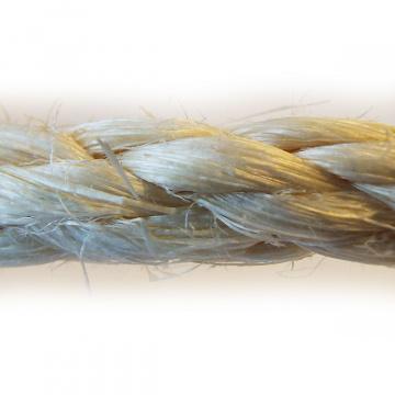 SISAL - sisalová přírodní lana a šňůry, stáčená, průměry 6, 8 a 10mm