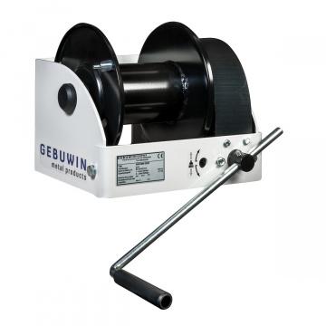 Ruční lanový naviják se šnekovým převodem, 250-1500kg, GEBUWIN