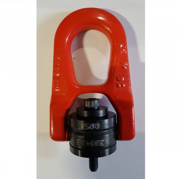 Otočný vázací bod DSR+C, M8x14mm, nosnost 500kg, středění 16x3mm