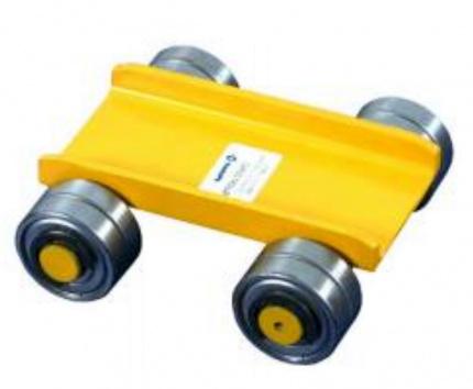 Pojezdový vozík s ocelovými kolečky nosnost 1500kg, EN 1757, HAKLIFT