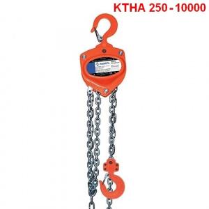 Ruční kladkostroj typ KTHA 250 - 10000kg, HAKLIFT_Pavlínek sro