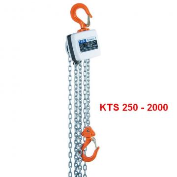 Ruční kladkostroj typ MINI KTS 250 - 3000kg, HAKLIFT