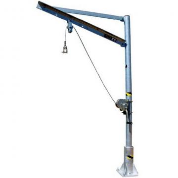 Otočný jeřáb nerezový 4571.0,15, nosnost 150kg, vyložení 275-775mm
