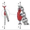 montáž zkracocače řetězového vazáku