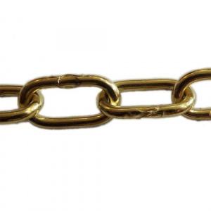 Řetěz článkový 2,8 x 17 mm, nezkoušený, poniklovaný