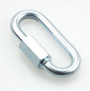 Řetězová rychlospojka, s rozměry odpovídajícími DIN 56927 - Form A, pozinkovaná
