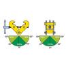 Šroubová svěrka na profily TARPAL - FORANKRA