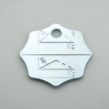 Identifikační štítek řetězový