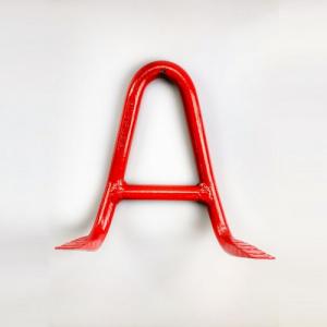 Stohovací hák vysokopevnostní, třída 8, typ-910, červený lak