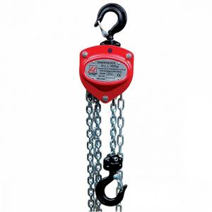 Ruční řetězový kladkostroj, typ 1414, nosnost 1000kg