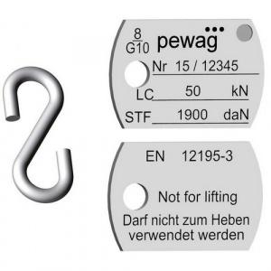 IDW štítek pro kotevní řetězy