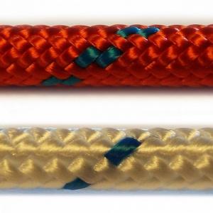 TORNÁDO / ZENITH - startovací a vlekové šňůry, bílo-modré a červené