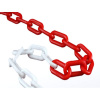 Řetěz plastový červeno-bílý