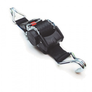 Samonavíjecí upínací pás typ AZG50 IHD, černý, 2xIHD, LC 500daN